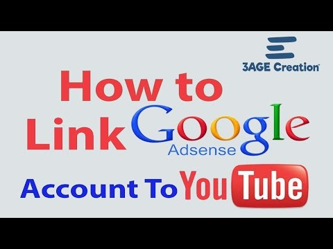 how to link adsense to your youtube channel