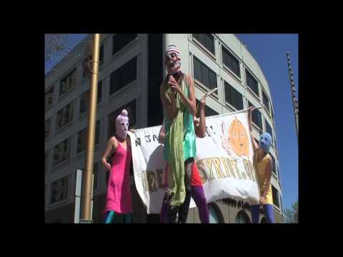 Free Pussy Riot! San Francisco Solidarity video