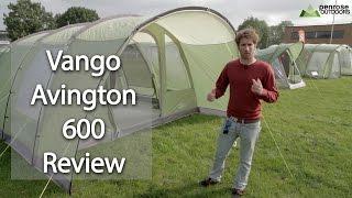 Play Vango Airbeam Taiga 600xl Tent Review