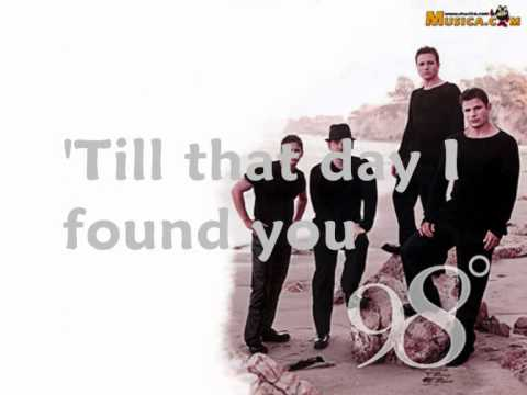 Instramental version of I DO (CHERISH YOU) as performed by 98 DEGREES