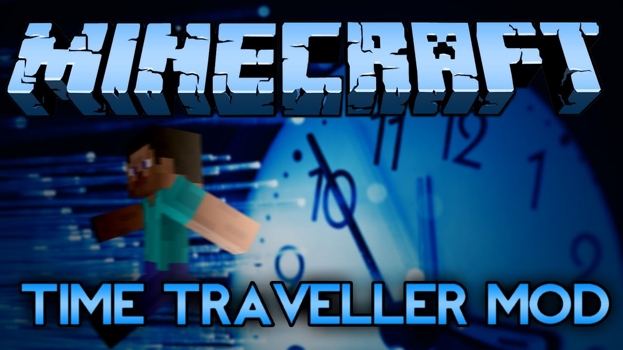 minecraft mod showcase time travel   back to the future bitches