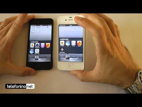 Apple iPhone 5 versus iPhone 4s da Telefonino.net
