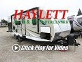 HaylettRV - 2018 Freedom Express 248RBS Rear Bath Outside Kitchen Ultralite Couples Camper