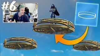 NINJA REACTS NEW CIRCULAR BUILDING TYPE Fortnite Funny Moments Ep.6 (Fortnite Battle Royale Daily)