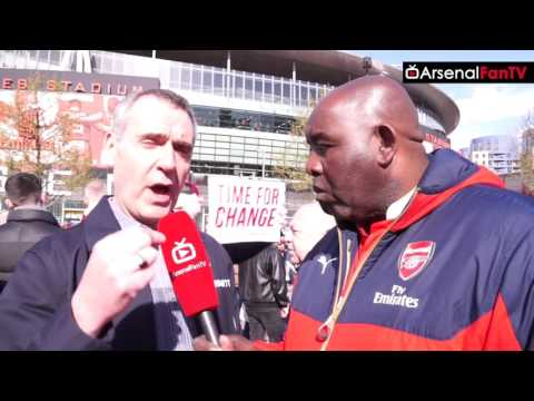 Arsenal v Norwich City | The Time For Change Protest!