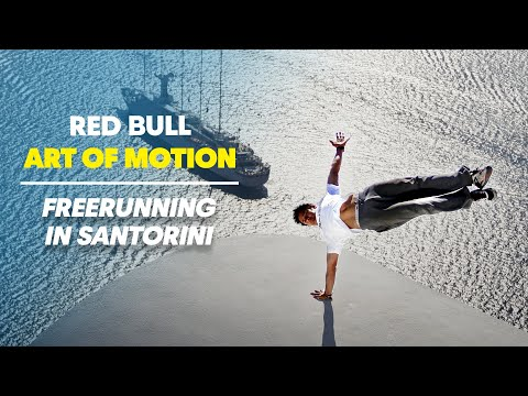 Freerunning in Santorini - Red Bull Art of Motion
