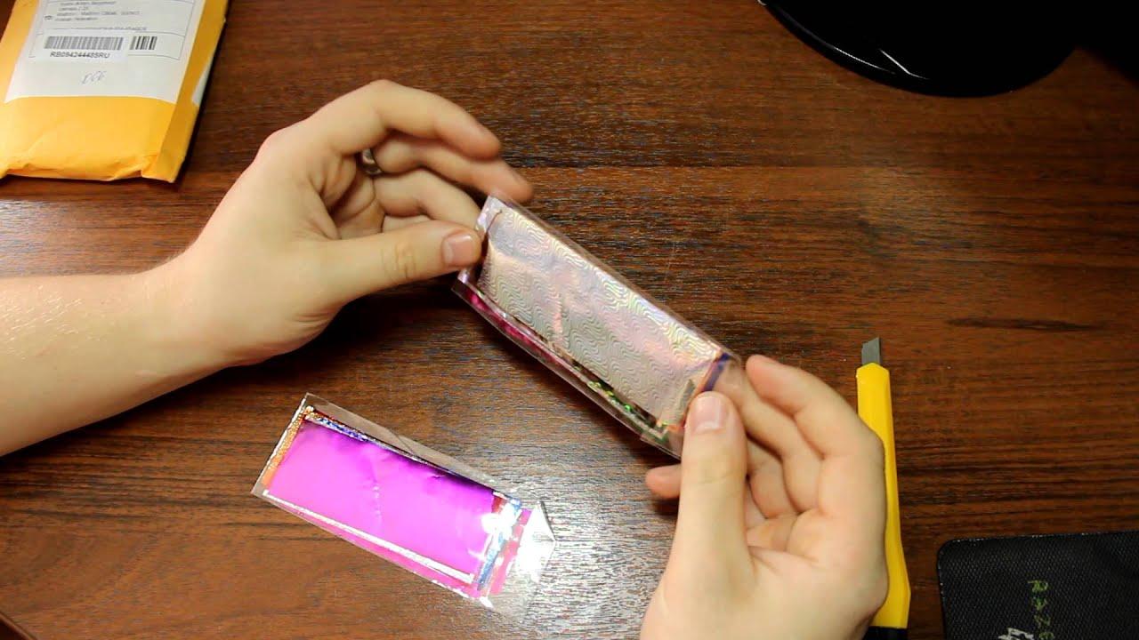 Пленки на ногти дизайн фото