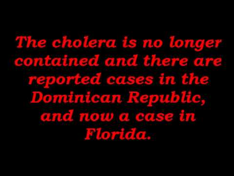 Haiti is Dying and Cholera Spills Over into Florida