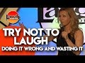 Try Not To Laugh | Doing It Wrong and Wasting It | Laugh Factory Stand Up Comedy