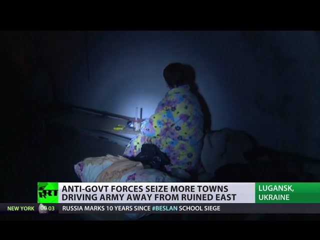 'It's hell': Ukrainians 'sick & tired' of war