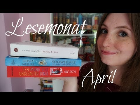 Lesemonat APRIL 2017 | Bines Bücher