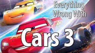 Everything Wrong With Cars 3 In 14 Minutes Or Less by : CinemaSins