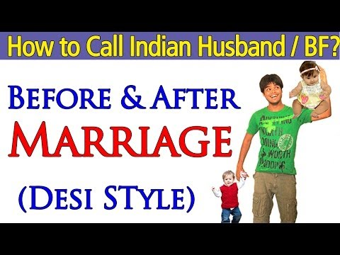 How To Call An Indian Husband boyfriend In Desi Style In Hindi video