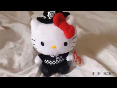 HelloKittyGoodies - Hello Kitty TY Plush Police Woman