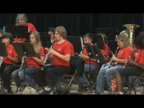 Los Coches Creek Middle School Band - Dark Adventure