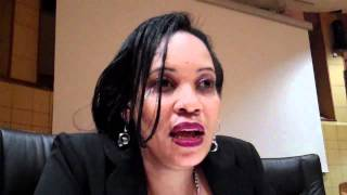 Dr Mary-Rose Giattas speaks on the importance of male circumcision (Michuzi Blog)