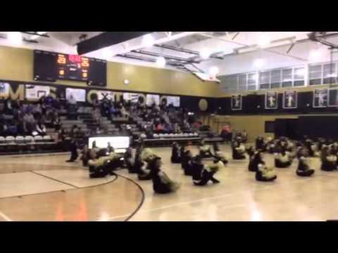 Paramus Catholic High School Dance Team - 12/21/2013