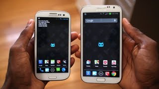 Samsung Galaxy Note 2 vs Galaxy S3!