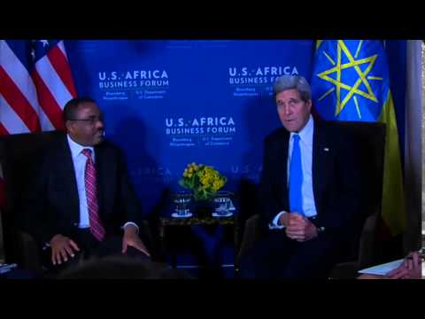 Secretary Kerry Delivers Remarks With Ethiopian Prime Minister Desalegn