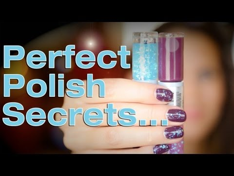 HOW TO PAINT YOUR NAILS PERFECT