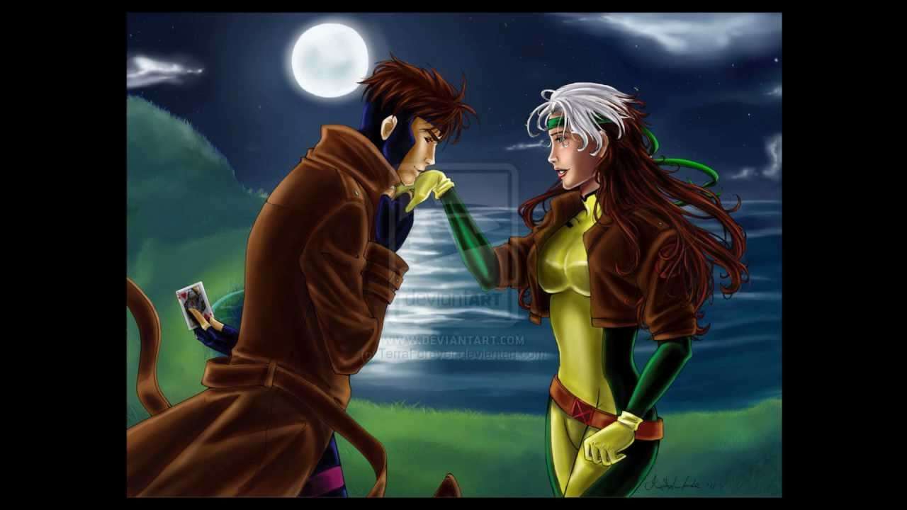 when do rogue and gambit meet