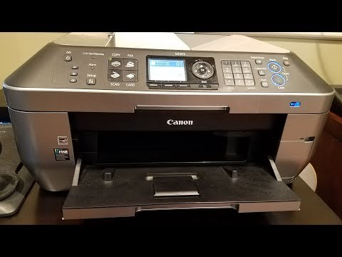 Canon PIXMA MX870 Wireless Office All-in-One Printer Review