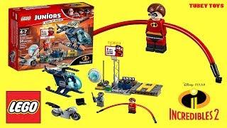 Disney Pixar Incredibles 2 LEGO Juniors #10759 Elastigirl's Rooftop Pursuit Tubey Toys