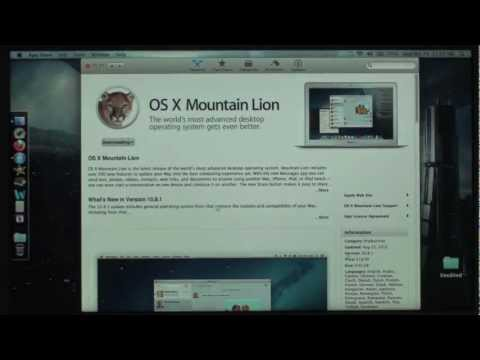How to: Upgrade to OSX Mountain Lion