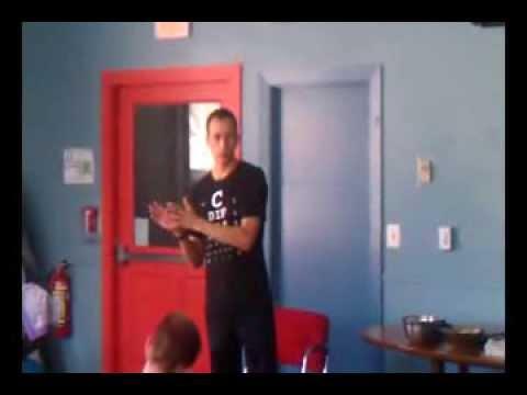 Aaron Scheidies Visits Ivy Street School - Pt. 1