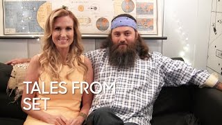 Video Tales From Set: Willie and Korie