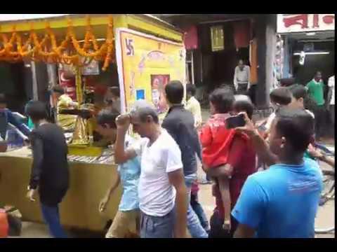 fast Rath yatra on raniganj burdwan west bangal