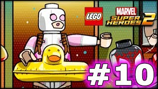 LEGO Marvel Superheroes 2 - GWENPOOL LEVEL 10 - The End - 100% Complete