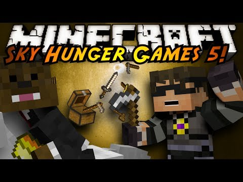 Minecraft Sky Hunger Games : THIEVING BACCA!