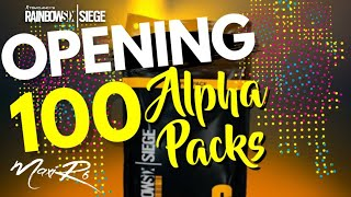 OPENING 100 ALPHA PACKS !!!