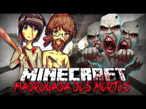 Minecraft: MADRUGADA DOS MORTOS! (Mini-Game Novo)
