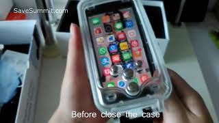 How To Use Waterproof Underwater iPhone Case