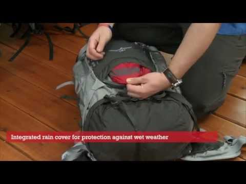 Osprey Kestrel 68 rucksack - Cotswold Outdoor product video