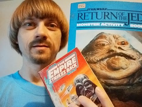 Vintage Star Wars Books Collection -(Weird Paul)  80's Vlog Video Star Wars Novels 2014