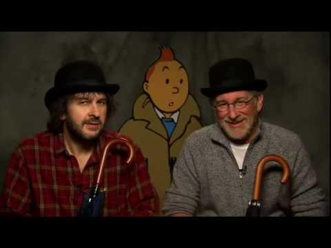 Steven Spielberg y Peter Jackson hablan de Tintin