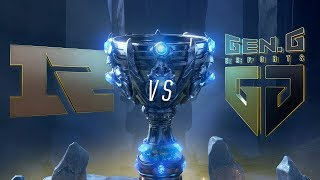 RNG vs GEN | Worlds Group Stage Day 5 | Royal Never Give Up vs Gen.G Esports (2018)
