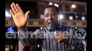 SCOAN 19/11/17: Powerful Mass Prayer & Deliverance with TB Joshua