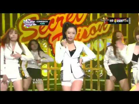 시크릿 poison (poison By Secret mcountdown 2012.09.13) video