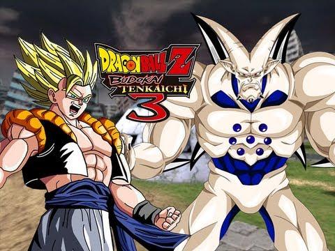 DragonBall Z Budokai Tenkaichi 3: Super Gogeta VS Omega Shenron [GT What if] (Live Commentary)