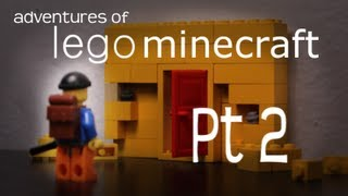 Adventures of Lego Minecraft Pt 2