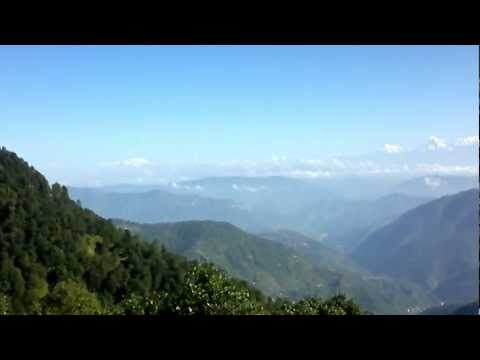 Himalayas From Nainital Snow View Point