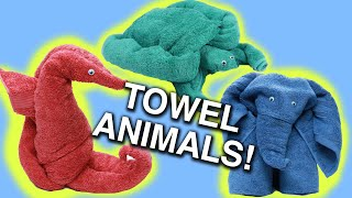 How To Make Towel Animals