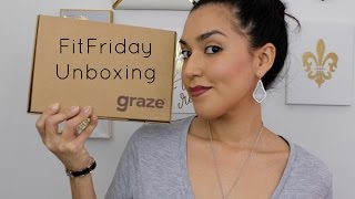 Fit Friday #15: Graze May 2016 Unboxing + FREE Box
