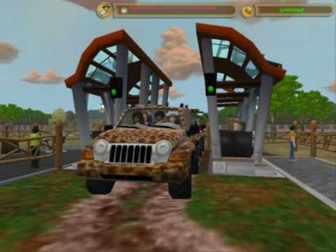 Zoo Tycoon 2 - Zoo Walkthrough and Zoo Jeep Ride