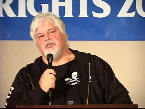 Captain Paul Watson - Animal Rights Conference 2009 Keynote Speaker