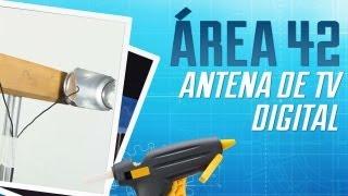 Como criar uma antena de TV digital com lata de refri [Área 42] - Tecmundo